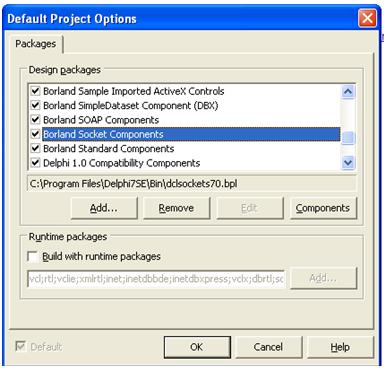 Program Komunikasi dengan Ethernet(TCP/IP) dengan Delphi 7